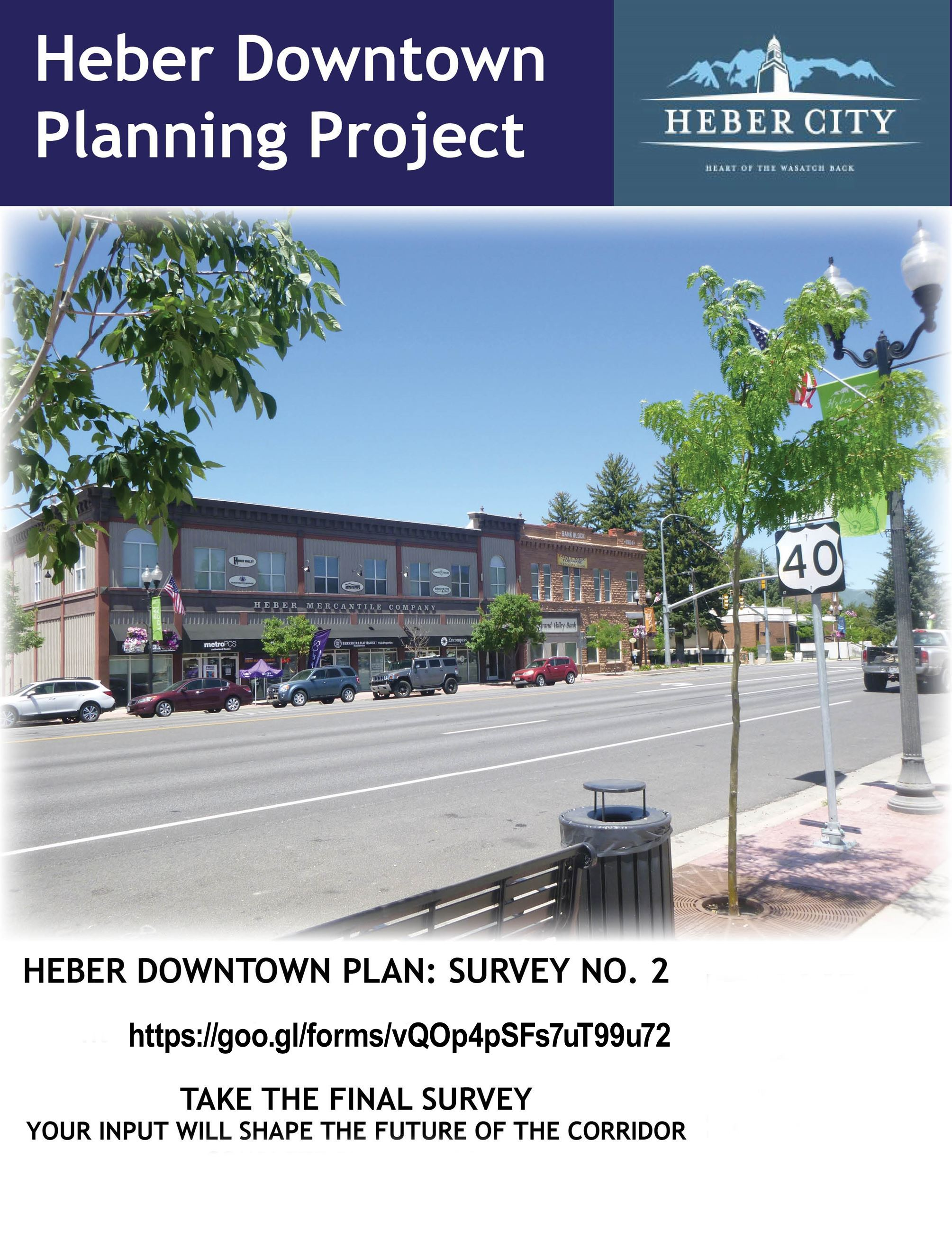 UDOT Heber Downtown Planning Project Survey 2