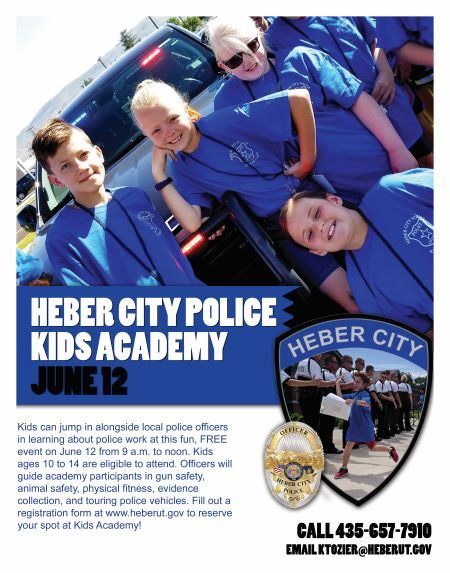 Kids Academy Flyer 2019
