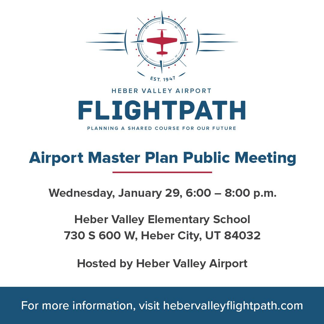 Heber Airport Master Plan Meeting